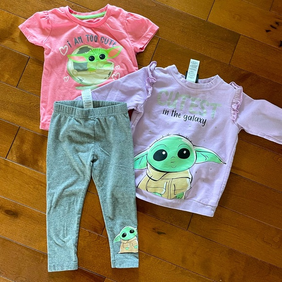 Star Wars Baby Yoda Outfit